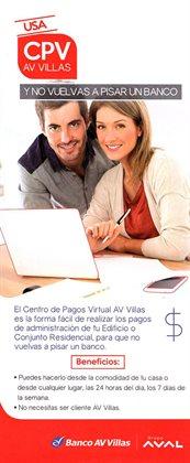 Ofertas de Bancos y seguros en el catálogo de Banco AV Villas en Facatativá ( 26 días más )