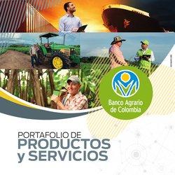 Catálogo Banco Agrario de Colombia ( Más de un mes)