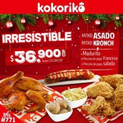Ofertas de Restaurantes en el catálogo de Kokoriko en Manizales ( 11 días más )