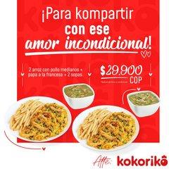 Ofertas de Restaurantes en el catálogo de Kokoriko ( 7 días más)