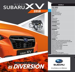 Catálogo Subaru en Medellín ( Más de un mes )