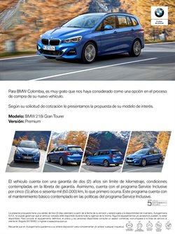 Catálogo BMW en Villavicencio ( Más de un mes )