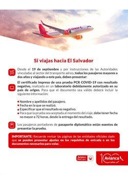 Ofertas de Viajes en el catálogo de Avianca en Villavicencio ( 13 días más )