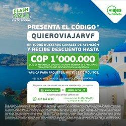 Catálogo Viajes Falabella en Bogotá ( Caducado )