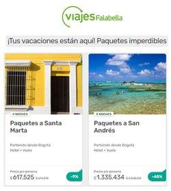 Ofertas de Viajes en el catálogo de Viajes Falabella ( 3 días más)