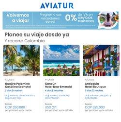 Catálogo Aviatur ( Más de un mes )