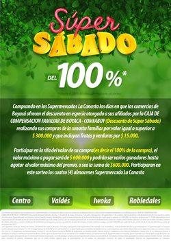 Ofertas de La Canasta  en el catálogo de Sogamoso