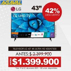 Ofertas de Deporte en el catálogo de Agaval en Bogotá ( 3 días más )