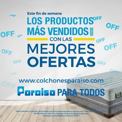 Ofertas de Hogar y muebles en el catálogo de Colchones Paraiso en Bucaramanga ( Caduca hoy )