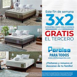 Ofertas de Hogar y muebles en el catálogo de Colchones Paraiso ( 11 días más )