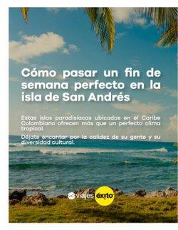 Ofertas de Viajes en el catálogo de Viajes Éxito ( 12 días más )