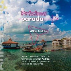 Ofertas de Viajes en el catálogo de Viajes Éxito en Sabaneta ( 9 días más )