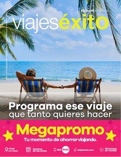Ofertas de Viajes en el catálogo de Viajes Éxito ( 2 días más)