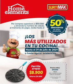Ofertas de Supermercados en el catálogo de Surtimax ( 2 días más)