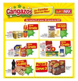 Ofertas de Supermercados en el catálogo de Surtimax ( 6 días más)
