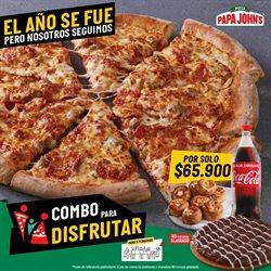 Ofertas de Restaurantes en el catálogo de Papa John's en Barranquilla ( 5 días más )