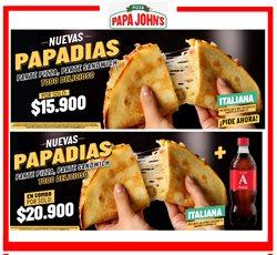 Ofertas de Restaurantes en el catálogo de Papa John's en Bello ( 10 días más )