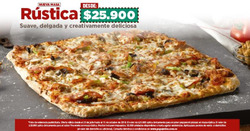 Ofertas de Pizza  en el catálogo de Papa John's en Bogotá
