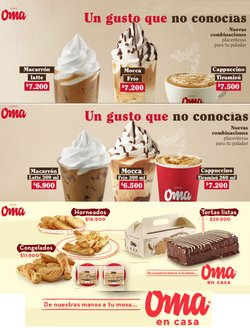 Ofertas de Restaurantes en el catálogo de Café OMA en Facatativá ( Caduca hoy )