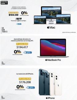 Ofertas de Informática y electrónica en el catálogo de Mac Center ( 2 días más)
