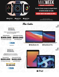 Catálogo Mac Center ( Publicado hoy)