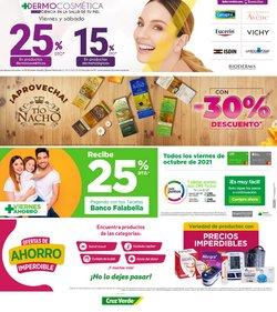 Ofertas de Farmacias, Droguerías y Ópticas en el catálogo de Cruz verde ( 13 días más)