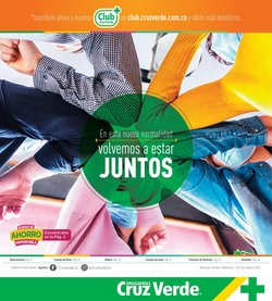 Ofertas de Farmacias, Droguerías y Ópticas en el catálogo de Cruz verde ( 14 días más)