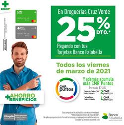 Cupón Cruz verde en Espinal ( Publicado hoy )