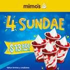 Catálogo Helados Mimo's ( 14 días más )