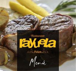 Ofertas de Restaurante Rayuela en el catálogo de Restaurante Rayuela ( Más de un mes)