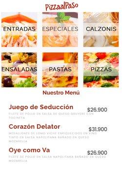 Ofertas de Restaurantes en el catálogo de Pizza al Paso ( 9 días más)