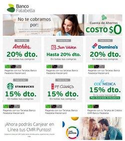 Ofertas de Bancos y seguros en el catálogo de Banco Falabella en La Estrella ( Más de un mes )