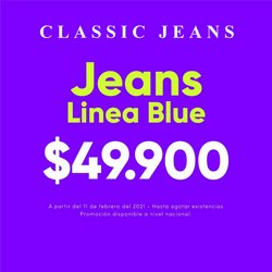 Catálogo Classic Jeans en Soledad ( Caducado )