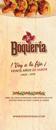 Ofertas de Restaurantes en el catálogo de Restaurante La Boquería ( Más de un mes)