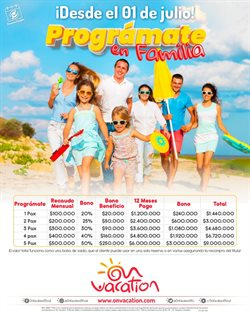 Ofertas de Pago en On Vacation