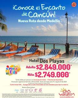 Ofertas de Viajes en el catálogo de On Vacation en Medellín ( 9 días más )