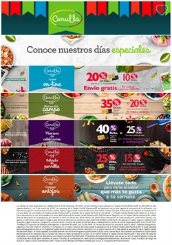 Ofertas de Supermercados en el catálogo de Carulla ( 2 días publicado )