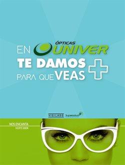 Catálogo Óptica Univer en Cartagena ( Más de un mes )