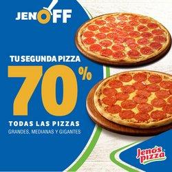 Catálogo Jeno's Pizza ( 3 días publicado )