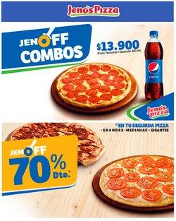Ofertas de Jeno's Pizza en el catálogo de Jeno's Pizza ( Vence mañana)
