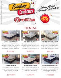 Ofertas de Hogar y muebles en el catálogo de Colchones Wonder en Cúcuta ( 23 días más )