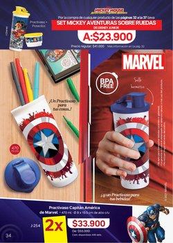 Ofertas de Capitán América en Tupperware