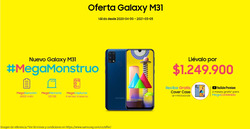 Cupón Samsung en Barranquilla ( Más de un mes )