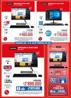 Catálogo Lenovo ( 4 días más )