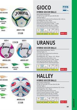 Ofertas de Balón de fútbol en Joma