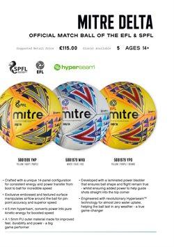 Ofertas de Balón de fútbol en Mitre
