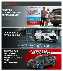 Ofertas de Coche, moto y repuestos en el catálogo de Honda en Chinchiná ( Más de un mes )