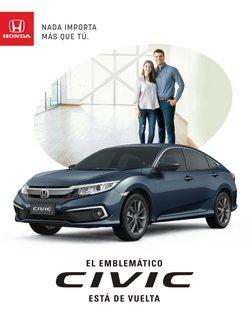 Catálogo Honda ( Más de un mes)