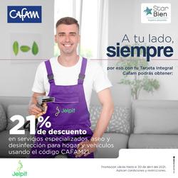 Cupón Cafam en Barranquilla ( 12 días más )