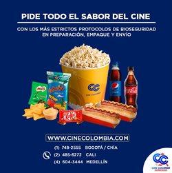 Ofertas de Libros y ocio en el catálogo de Cine Colombia en Cajicá ( 22 días más )